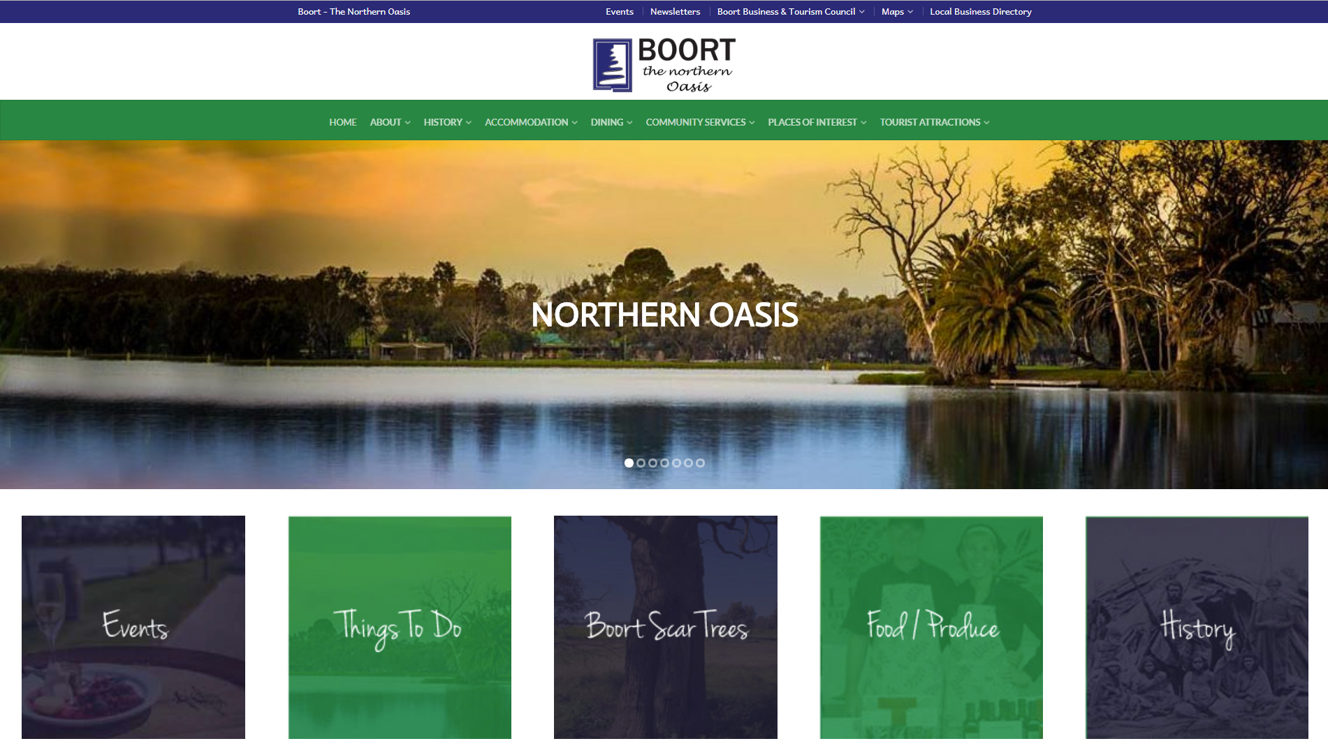 Boort Web Page
